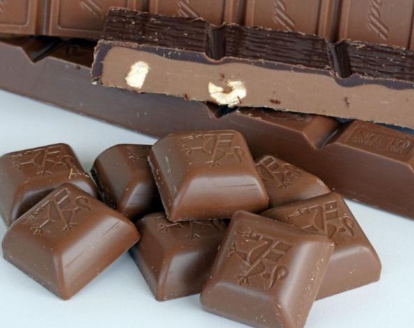 Werbeschokolade